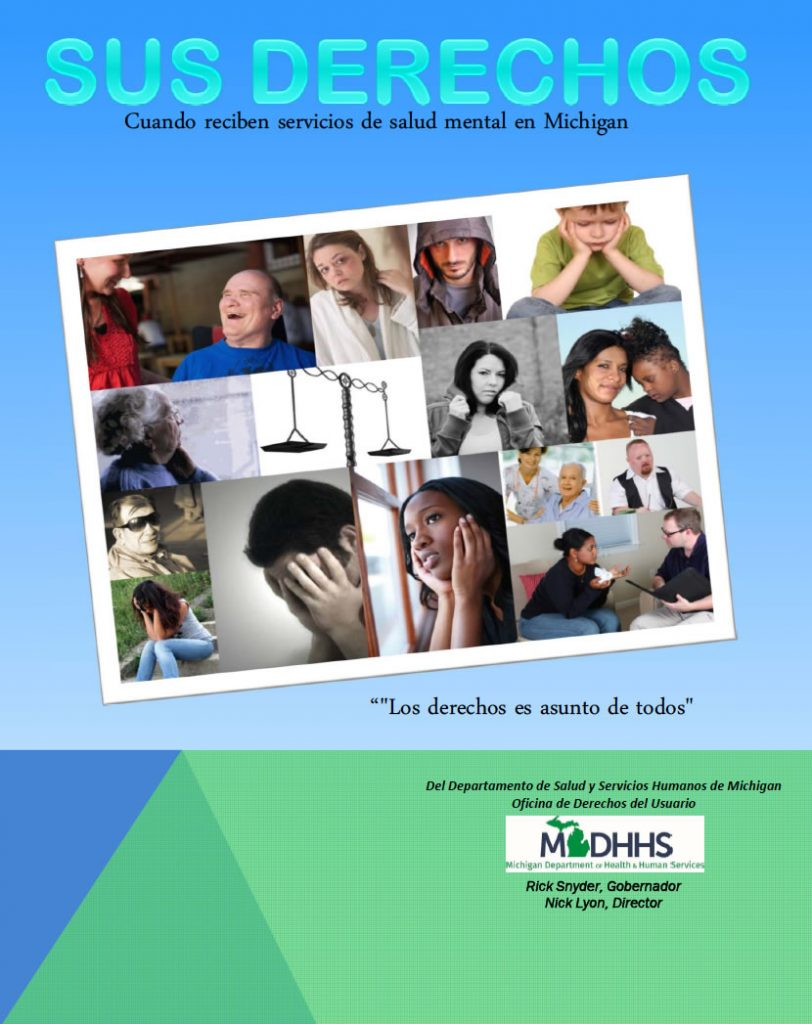Recipient Rights Book Spanish